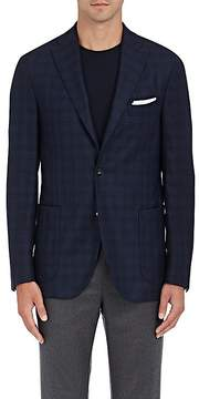 Boglioli Men's Plaid Wool Twill Two-Button Sportcoat