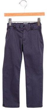 Armani Junior Boys' Straight-Leg Mid-Rise Pants