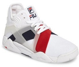 Fila Boy's Cage 17 Logo High Top Sneaker