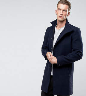 ONLY & SONS Funnel Neck Overcoat
