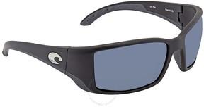 Costa del Mar Blackfin Grey Rectangular Sunglasses BL 11 OGP