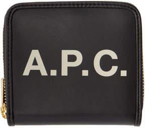 A.P.C. Black Morgane Compact Wallet
