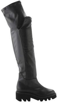Vic Matié Women's Harley Lug Sole Platform Over-the-Knee Boot