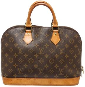 Louis Vuitton Alma clutch bag - BROWN - STYLE