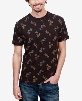 Lucky Brand Men's Novelty Floral T-Shirt