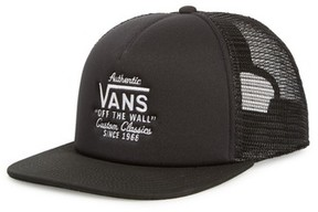 Vans Men's Galer Mesh Trucker Cap - Black