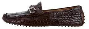 Ralph Lauren Alligator Driving Loafers