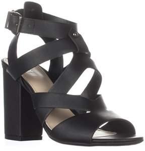 Bar III B35 Mae Strappy Sandals, Black.