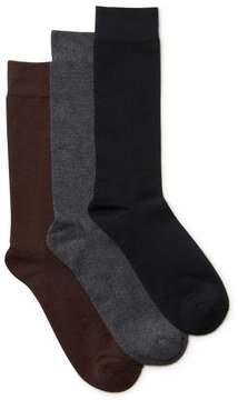 Clarks Mens 3-Pack Cushion Socks