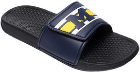 NCAA Men's Forever Collectibles Michigan Wolverines Legacy Slide Sandals
