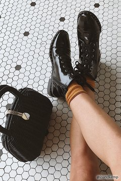 FOREVER 21 Faux Leather Studded Boots