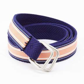 Blade + Blue Blue & Orange Stripe Belt by One Magnificent Beast