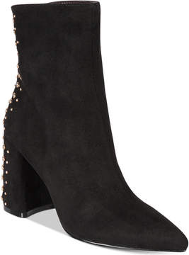 Kensie Tadyn Studded Booties Women's Shoes