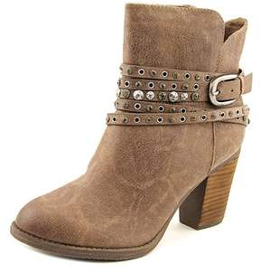 Not Rated Alpha Women Round Toe Synthetic Brown Ankle Boot.