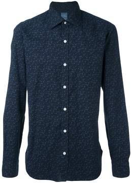 Barba floral motif shirt