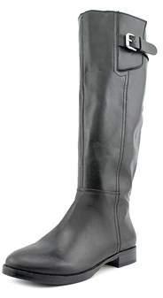 INC International Concepts Womens Coco Leather Almond Toe Mid-calf Fashion Bo....