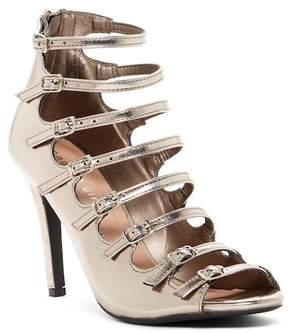 Madden-Girl Ravve Buckle Caged Sandal