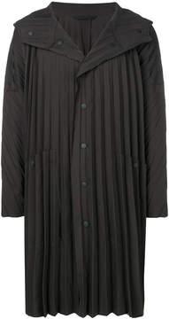 Issey Miyake Homme Plissé pleated raincoat