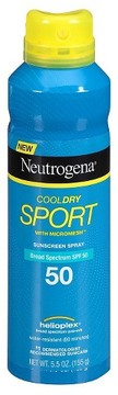 Neutrogena® CoolDry Sport Sunscreen Spray - SPF 50 - 5.5oz