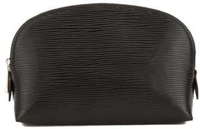 Noir Epi Leather Cosmetic Pouch