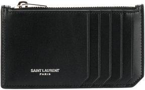 Saint Laurent card holder - BLACK - STYLE