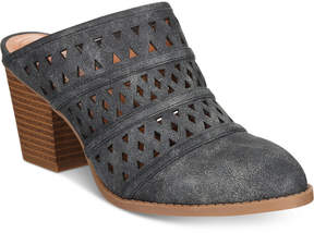 Style&Co. Style & Co Jordii Perforated Mules, Created for Macy's Women's Shoes
