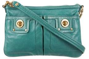 Marc by Marc Jacobs Leather Dual Pocket Crossbody Bag