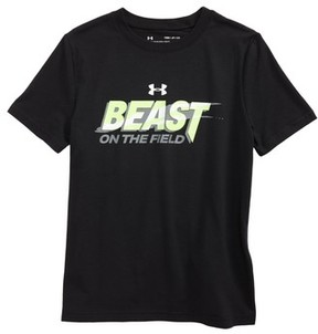 Under Armour Boy's Beast On The Field Graphic T-Shirt
