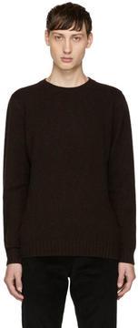 A.P.C. Burgundy Wool Sweater