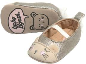 Osh Kosh Baby Girl Glitter Cat Mary Jane Crib Shoes