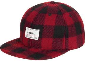 Woolrich Wool Buffalo Plaid Baseball Cap