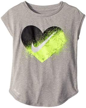 Nike Spray Heart Dri-FIT Modern Tee Girl's T Shirt