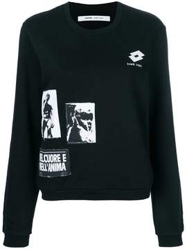 Damir Doma graphic patch sweatshirt