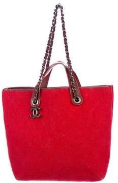 Chanel Medium Pop Felt Shopping Bag