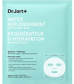 Dr. Jart+ Water Replenishment Cotton Sheet Mask, 0.8 oz