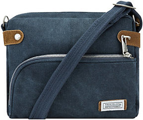 Travelon Anti-Theft Heritage Canvas RFID Crossbody Bag