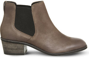Office Anakin leather chelsea boots