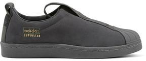 adidas Superstar Suede Slip-on Sneakers - Dark gray