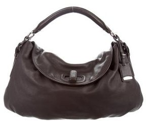 Jil Sander Leather Hobo Bag