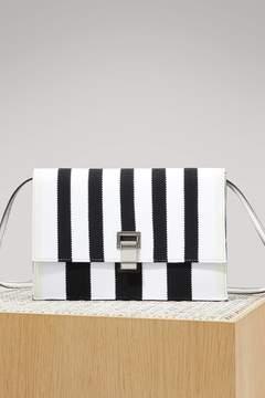 Proenza Schouler Small striped Lunch bag
