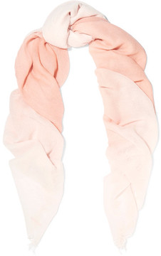 Chan Luu Ombré Cashmere And Silk-blend Scarf - Pink