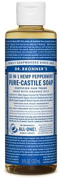 Dr. Bronner's Peppermint Pure-Castile Liquid Soap - 8oz