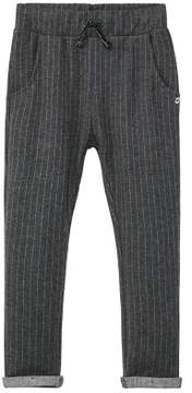 MANGO Fine-stripe jogging trousers