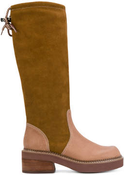 See by Chloe calf length boots