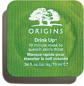 Origins Drink UpTM 10 Minute Mask to Quench Skin's Thirst - Travel-Size Pod