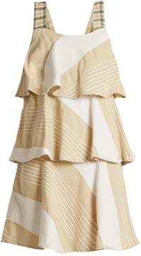 Ace&Jig Simone tiered cotton-blend dress