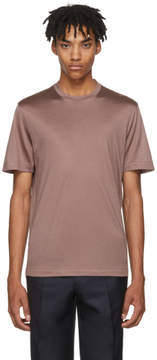 Brioni Pink Jersey T-Shirt
