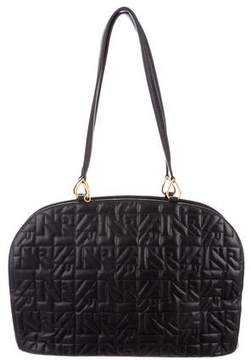 Nina Ricci Quilted Leather Bag