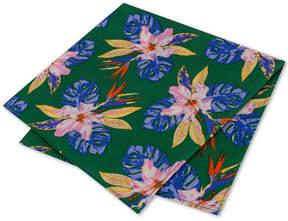 Tommy Hilfiger Men's Orchid Fond Silk Pocket Square