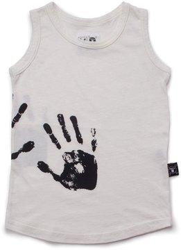 NUNUNU - Infant Hand Print Tank Top
